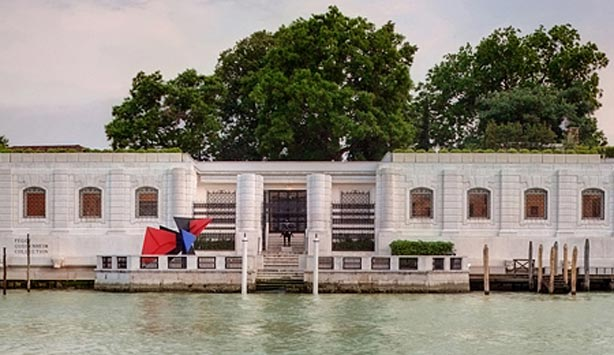 Façade of the Peggy Guggenheim Collection, Venice