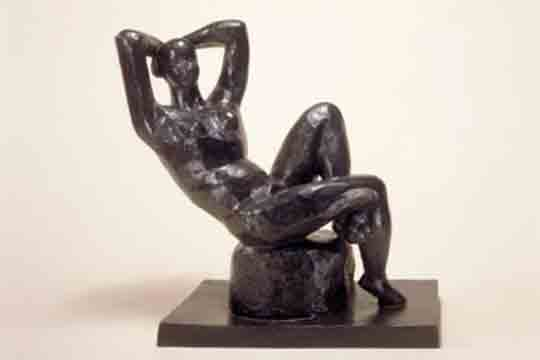 Henri Matisse Large Seated Nude (Grand Nu assis), 1922-29 (cast 1952)