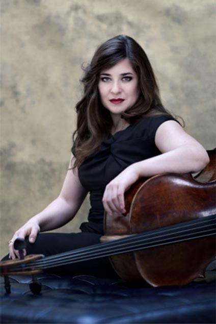 Alisa Weilerstein performed Tchaikovsky's