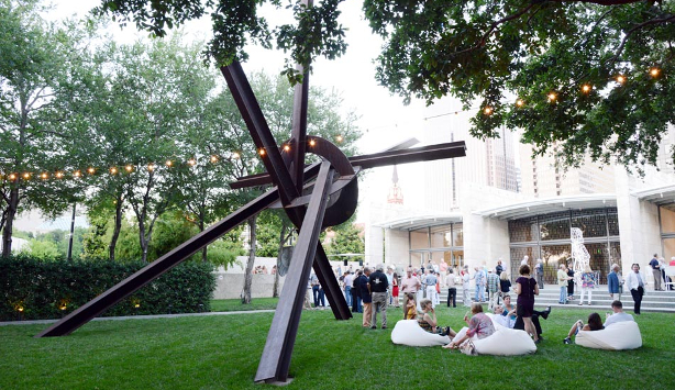 Reception in the Nasher Sculpture Center's Garden
