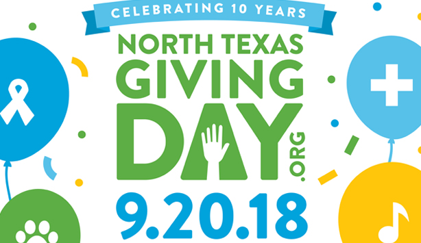 North Texas Giving Day September 20 2018