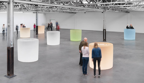 Exhibition view of Roni Horn at the DePont Museum, Tilburg, Netherlands, January 23-May 29, 2016. Photograph: Stefan Altenburger Courtesy of the artist and Hauser & Wirth. © Roni Horn