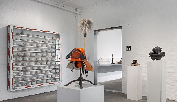 Tom Sachs, Tea Ceremony, Installation view, Noguchi Museum, Long Island City, NY