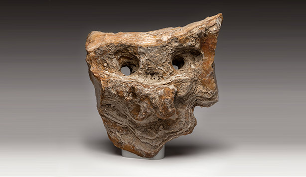 Neanderthal figure stone, Tony Berlant Collection