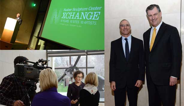 The Nasher director Jeremy Strick announces Nasher XChange on February 20th, 2013