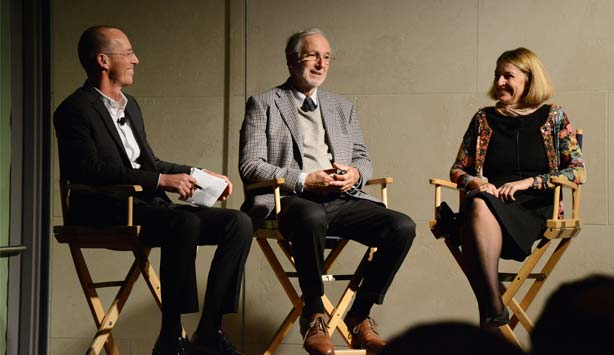 Renzo Piano speaks as part of the NasherSALON speaker series