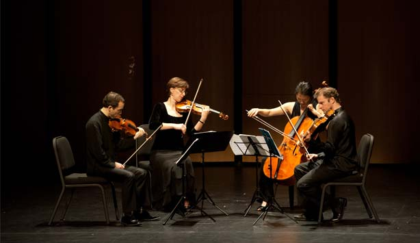 The Brentano String Quartet performs One Red Rose on November 23rd as part of the Nasher Sculpture C