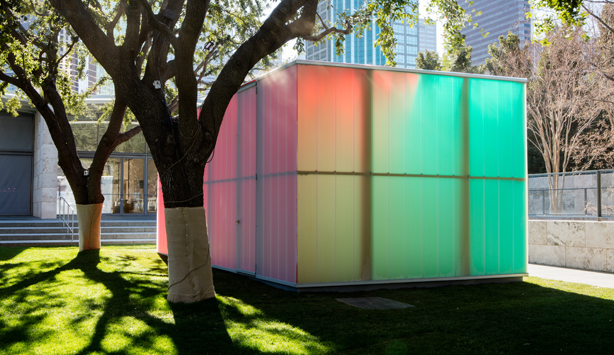 Ann Veronica Janssens in Nasher Garden