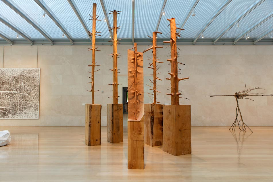 new product 592b2 350bf Giuseppe Penone  Being the River, Repeating the Forest September 19 ...