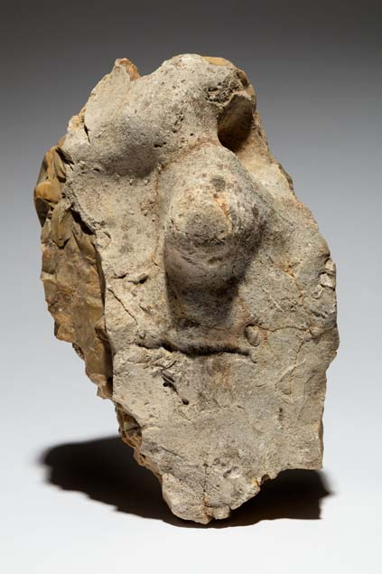 Artist unknown neanderthal figure stone fontmaure france