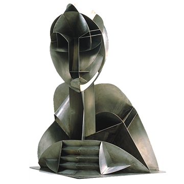 Constructed Head No. 2 by Naum Gabo